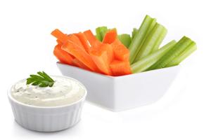 Veggie-Sticks-&-Dip